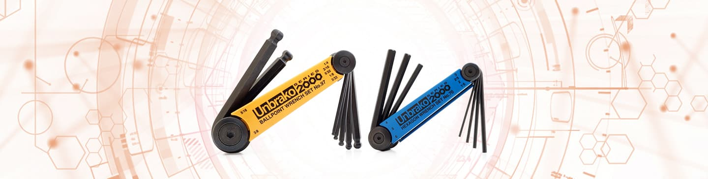 Unbrako hex wrenches